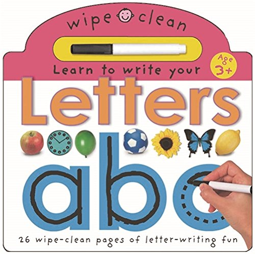 Learn To Write Your Letters (Wipe Clean Write and Learn): Priddy, Roger
