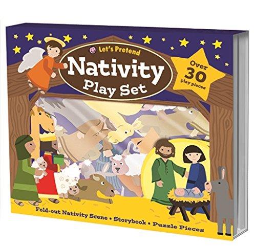 9781849158008: Nativity Play Set (Let's Pretend)