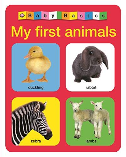 9781849158374: My First Animals (Baby Basics)