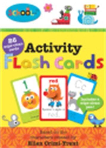 9781849158541: Activity Flash Cards (Schoolies)
