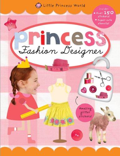 9781849158596: Fashion Designer (Little Princess World Sticker Activity Books)