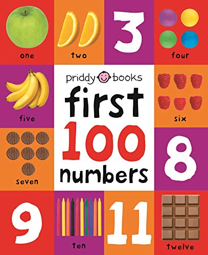 9781849158916: First 100 Numbers (First 100 Soft to Touch Board Books)