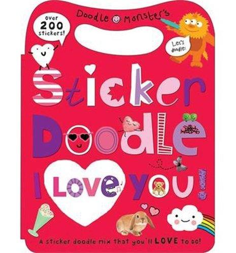 9781849159418: I Love You: Sticker Doodle