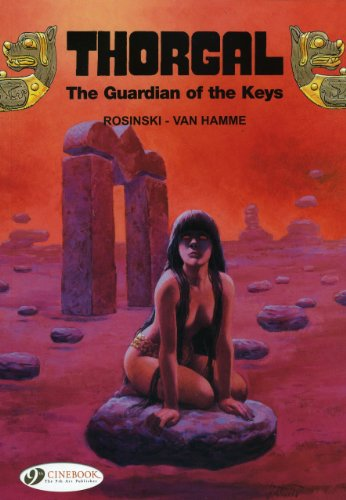 9781849180504: The Guardian of the Keys (Thorgal)