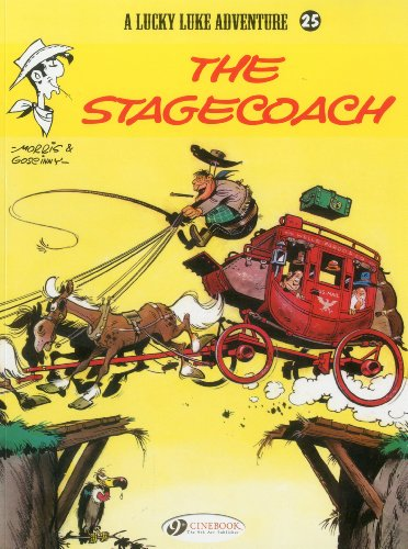 9781849180528: A Lucky Luke Adventure, Tome 25 : The Stagecoach