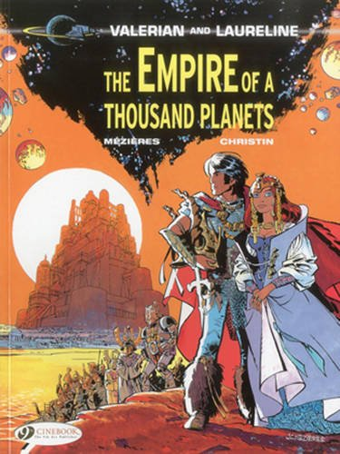 9781849180870: The Empire of a Thousand Planets (Valerian & Laureline)