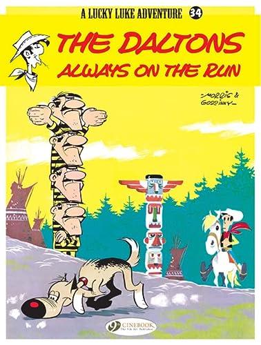 9781849181198: The Daltons Always on the Run (Lucky Luke)