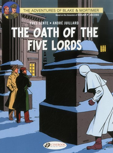 9781849181914: The Oath of the Five Lords (Blake & Mortimer)