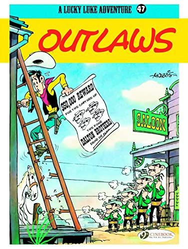 9781849182010: Outlaws (Lucky Luke)
