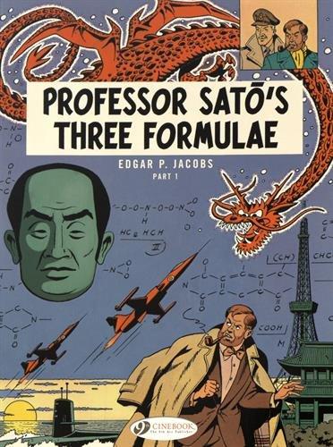 9781849182928: Professor Sato's Three Formulae – Part 1 (Blake & Mortimer)