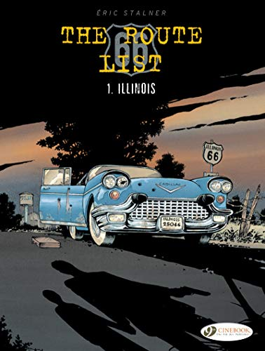 9781849184298: The Route 66 List - Volume 1 Illinois (1)