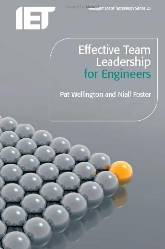 9781849191005: Effective Team Leadership for Engineers (Iet Management of Technology)