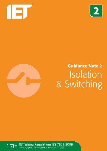 9781849192736: Guidance Note 2: Isolation & Switching (Guidance Notes)