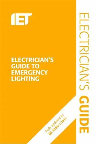 9781849197717: Electrician's Guide to Emergency Lighting
