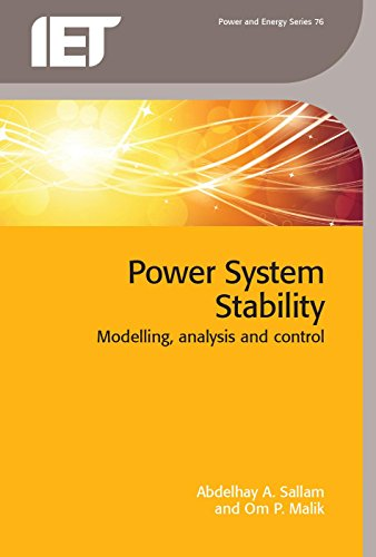 9781849199445: Power System Stability: Modelling, Analysis and Control (Iet Power and Energy)