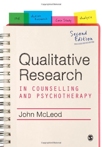9781849200615: Qualitative Research in Counselling and Psychotherapy
