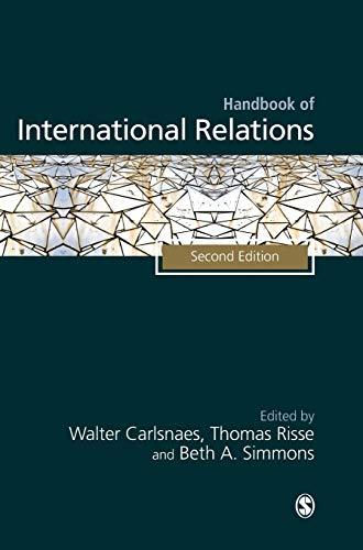 9781849201506: Handbook of International Relations