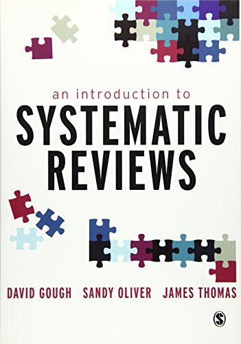 9781849201810: An Introduction to Systematic Reviews
