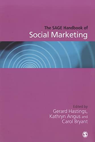 9781849201889: The SAGE Handbook of Social Marketing