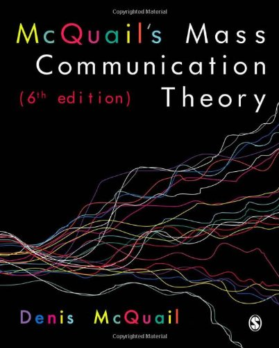 9781849202916: Mcquail's Mass Communication Theory