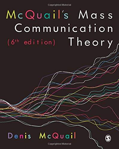 9781849202923: McQuail's Mass Communication Theory