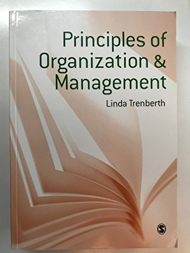 9781849203685: Principles of Organization And Management