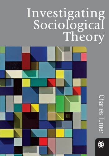 9781849203753: Investigating Sociological Theory