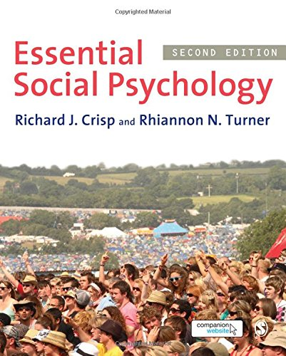 9781849203869: Essential Social Psychology