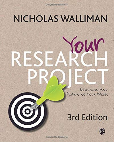 Your Research Project: Designing and Planning Your: Dr Nicholas Walliman