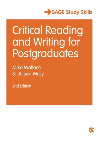The Essential Guide to Postgraduate Study (SAGE Study Skills Series)