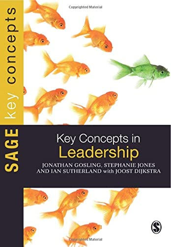 9781849205894: Key Concepts in Leadership (SAGE Key Concepts series)