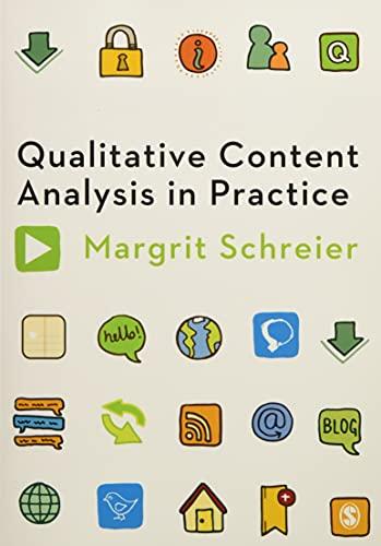9781849205931: Qualitative Content Analysis in Practice
