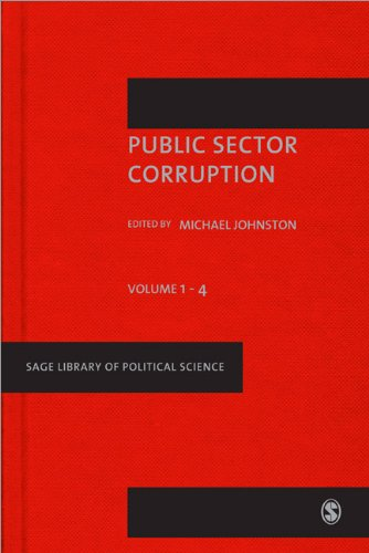 Public Sector Corruption (4 Vol Set)