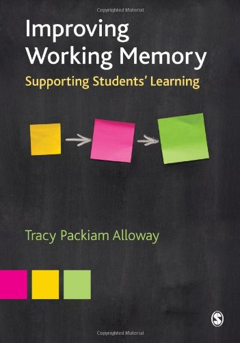 9781849207478: Improving Working Memory: Supporting Students′ Learning