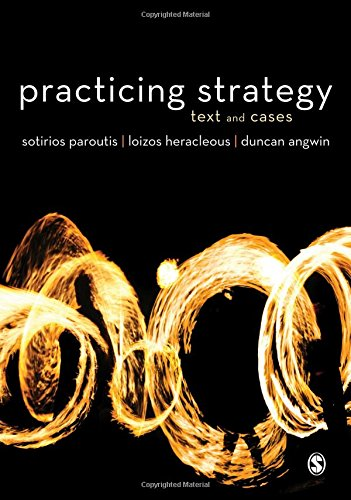 9781849207508: Practicing Strategy: Text and Cases