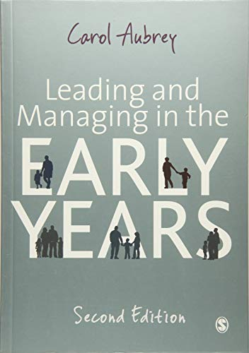Leading and Managing in the Early Years (1849207550) by Aubrey, Carol