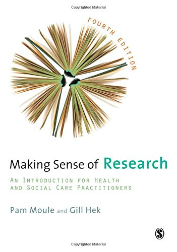9781849207799: Making Sense of Research: An Introduction for Health and Social Care Practitioners