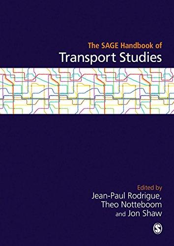 9781849207898: The SAGE Handbook of Transport Studies (Sage Handbooks)