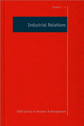 Industrial Relations (4 Vol.Set)
