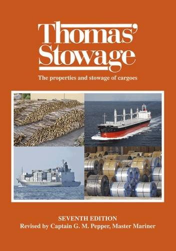 9781849270632: Thomas Stowage: The Properties and Stowage of Cargoes