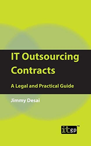 9781849280297: IT Outsourcing Contracts: A Legal and Practical Guide