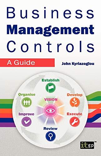 9781849284288: Business Management Controls: A Guide