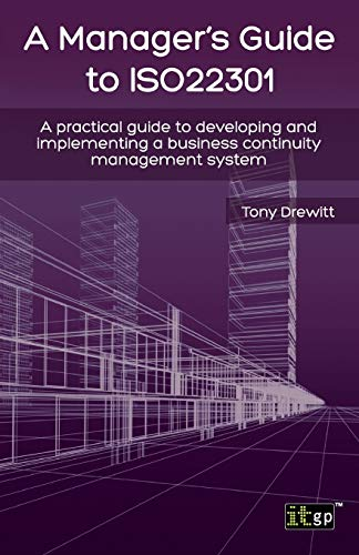9781849284677: Manager's Guide To ISO 22301