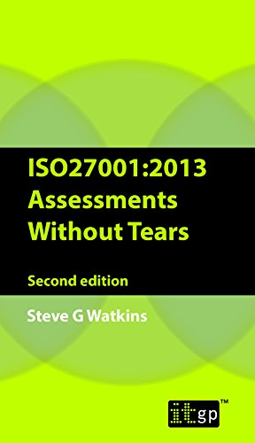9781849285346: Iso27001 Assessment Without Tears: A Pocket Guide 2013
