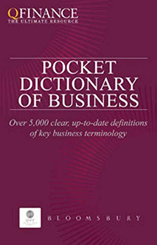 QFINANCE: The Pocket Dictionary of Business (QFINANCE: Authors, Various