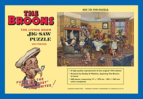 9781849342650: The Broons Jigsaw – The Living Room