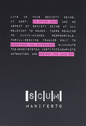 9781849351805: SCUM Manifesto