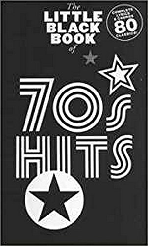 9781849380065: The Little Black Songbook: 70s Hits