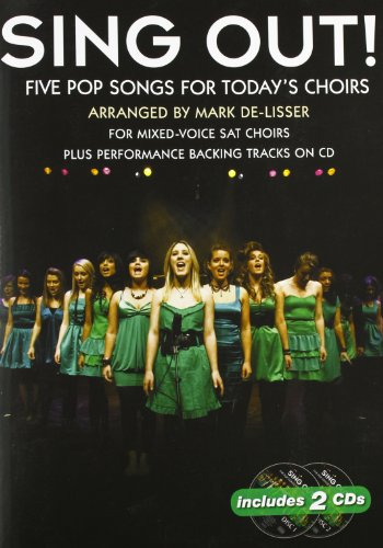 9781849380331: SING OUT] 5 POP SONGS FOR TODAY'S CHOIRS: VOLUME 1 - SAT PIANO ACCOMP AND BACKING TRACK