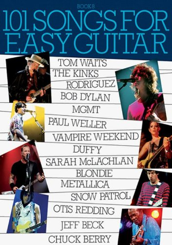 9781849380874: 101 Songs For Easy Guitar - Book 8